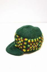 ★SALE50★ 「mashRe」 Knit Cap -green-