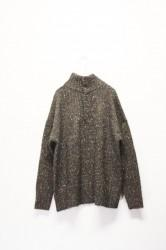 「khakito」army knit  -navy- (lady)