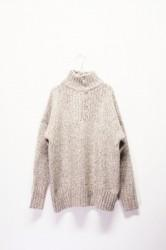 「khakito」army knit  -off- (lady)