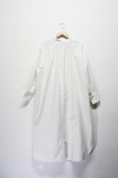 「hunch」cotton shirts onepiece (lady)