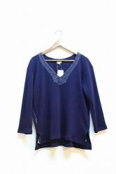 ★SALE40%OFF★「norah」indigo shirt  Lサイズ(men)