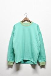 「QUOLT」off sleeve sweat
