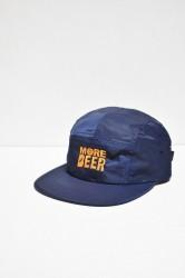 「MORE BEER」classic logo MA-1 cap -navy-
