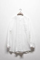 「YOHAKU」linen big shirts -white- (men&lady)