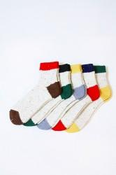 「A HOPE HEMP」 rainbow nep socks (mens&ladys)