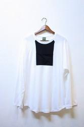 「phateeWEAR」 LOOSEBALL Tee -white- (mens&ladys)