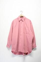 「BURLAP OUTFITTER」L/S B.B shirts -pink- (men)
