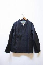 「phateeWEAR」 SAMUE DENIM JACKET -black-(mens&lady)