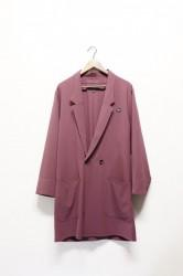 「QUOLT」migration coat -Purple-(men)