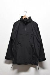 「BURLAP OUTFITTER」 zip up pullover -black- (men)