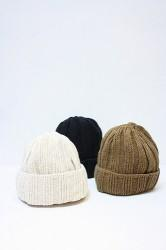 「RoToTo」 linen&cotton knit cap (mens&ladys)