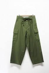 「maillot」military cloth easy cargo pants (lady)