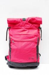 「F/CE.」RN roll top back pack -red-