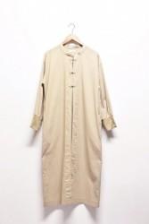 「khakito」china long gown -beige- (lady)