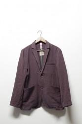 「ARIGATO FAKKYU」tailored jacket -linen gray-