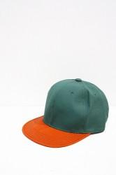 「Norah」 BB Cap -green×orange- (kids)