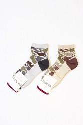 「RoToTo」 CAMO SHORT SOCKS (mens&ladys)