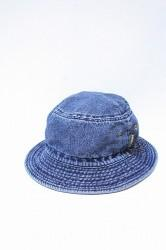 「phateeWEAR」 BUCKET HAT -washed indigo-
