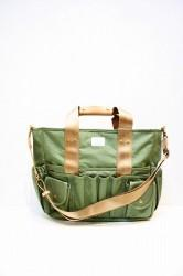 「FICOUTURE」 SQUARE TOOL BAG -ARMY-