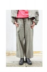 「hunch」wide pants (lady)