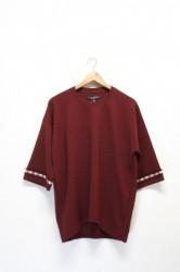 「QUOLT」chill cutsew -burgundy- (men&lady)