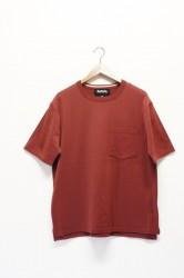 「RoToTo」dozme silket s/s knit -wine- (men)