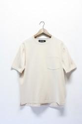 「RoToTo」dozme silket s/s knit -white- (men)