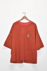 「leh」loose top -red- (men)