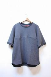 「Leh」 Thermal S/S T-shirts -ink black- Mサイズ (mens)