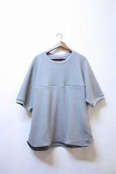 「Leh」 Thermal S/S T-shirts -gray- Lサイズ (mens)