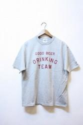 「TACOMA FUJI RECORDS」GOOD BEER DRINKING TEAM-gray-