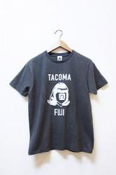 「TACOMA FUJI RECORDS」 LOGO MARK 17 -black-