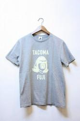 「TACOMA FUJI RECORDS」 LOGO MARK 17 -gray-