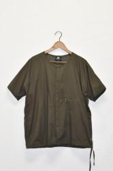 「Mountain Equipment」 pertex EQ snap tee -d.olive-