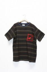 ★40%OFF★「time will tell works」s/s pocket tee-blk-