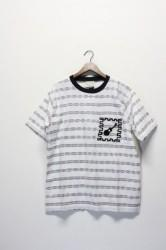 ★40%OFF★「time will tell works」s/s pocket tee-wht-