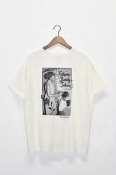 「GO HEMP」beauty saloon wide pocket tee