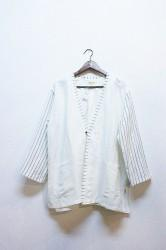 「norah」haori shirt -white- (men)
