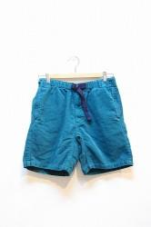 ★50%OFF★「Phatee」Venue Shorts cord-turquoise-Lサイズ