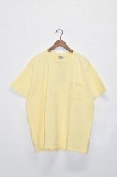 「good wear」s/s pocket tee big -smoky corn- (men)