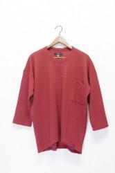 「QUOLT」 2tack dry knit -terracotta- (men)
