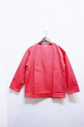 ★40%OFF★「maillot」ultra peach boat shirt -coral-