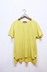 ★SALE50%OFF★「modemdesign」knit tee -yellow- Mサイズ