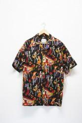 「DAVID CAREY」day of the dead shirts #1 (men)