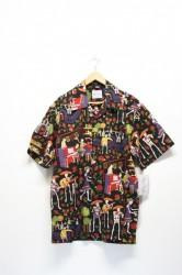 「DAVID CAREY」day of the dead shirts #2 (men)