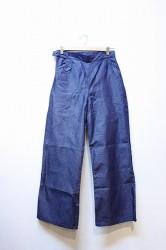 「phateeWEA」 VAGGY PANTS -navy- (lady)