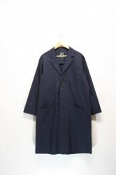 「yuruli」doctor coat -navy- (men&lady)