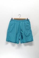 「BURLAP OUTFITTER」track shorts -turquoise- (men)