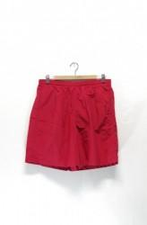 「BURLAP OUTFITTER」track shorts -red- (men)