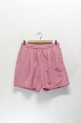 「BURLAP OUTFITTER」track shorts -pink- (men)